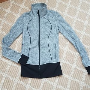 Lululemon zip up jacket size 4